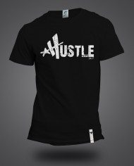 Hustle white mock