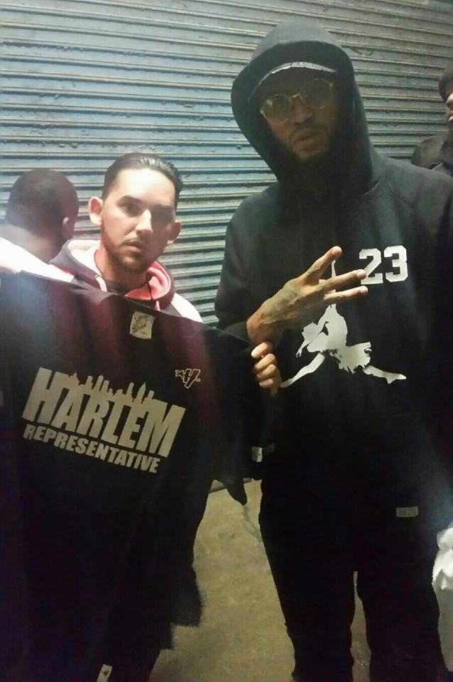 Dave East Reppin' Harlem Art History 101