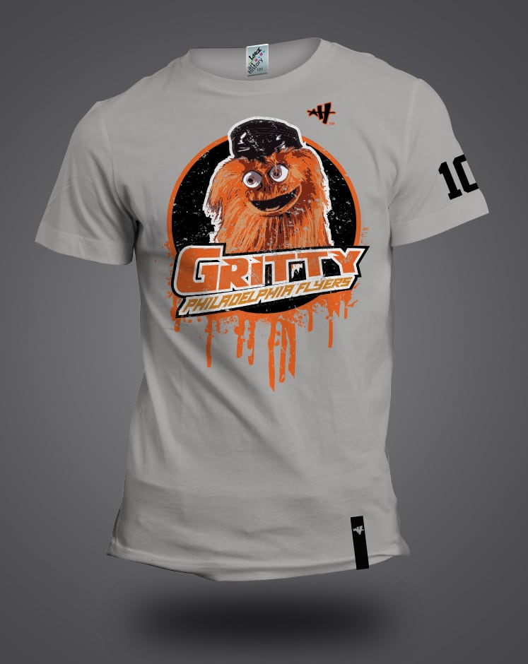 Philadephia Flyers  GRITTY T-shirt  ac9d869ce