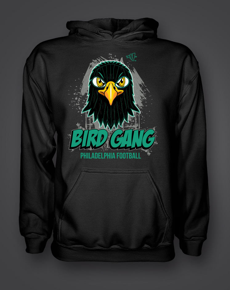 11ffa446c6b Bird Gang SKI MASK Hoody